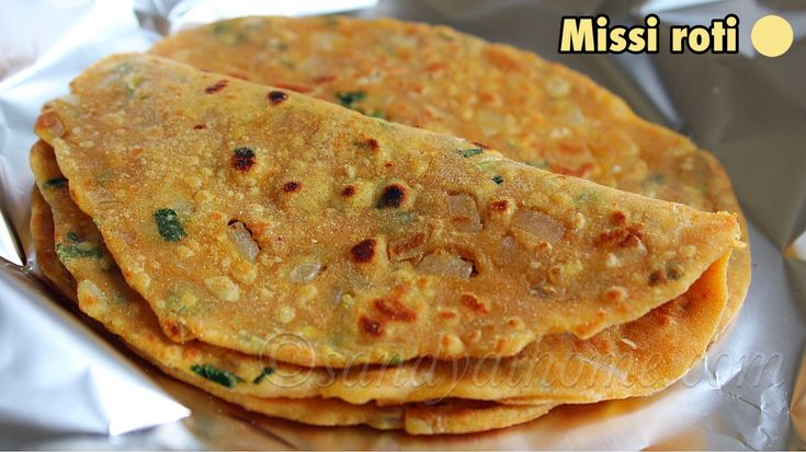 Missi roti recipe, How to make Missi roti, Misi roti