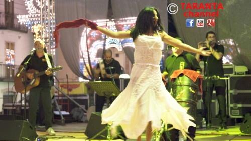 "Briganti di Terra d'Otranto Live perfoming ""Pizzicarella"" a Pizzica Song from Salento with their Pizzica Dancer Emanuala Vergari, click on the PIC to WATCH the related VIDEO - #taranta, #pizzica, #salento, #ballerinadipizzica"