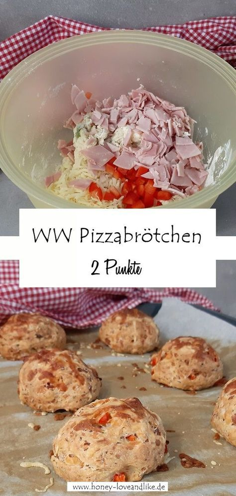 Weight Watchers Pizzabrötchen! Die perfekte Grillbeilage