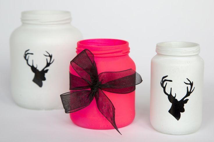 Kerst potjes DIY Rendier - Strik