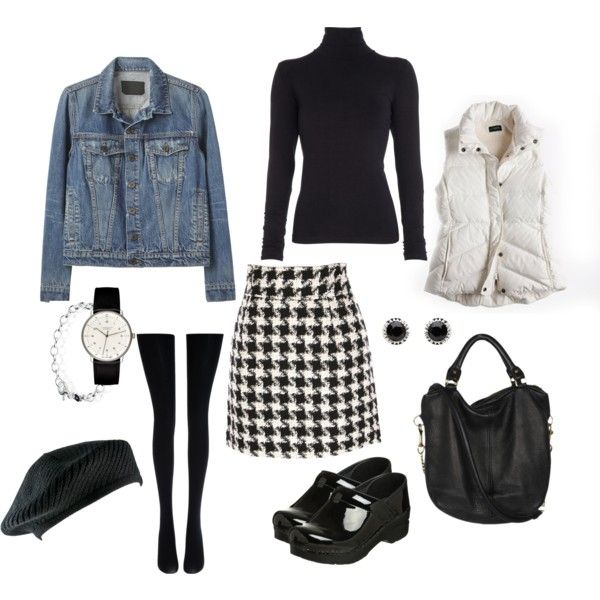 """""""Houndstooth"""" by rothmank on Polyvore"""
