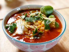 Slow Cooker Mexican Chicken Soup - The Pioneer Woman - Ree Drummond