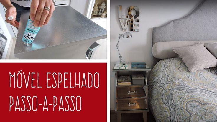 MOVEL ESPELHADO - DIY - Passo-a-passo