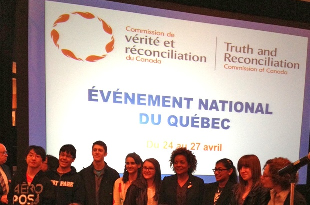 TRC Commissioner: Youth are part of the solution #TRC #Montreal #residentialschools