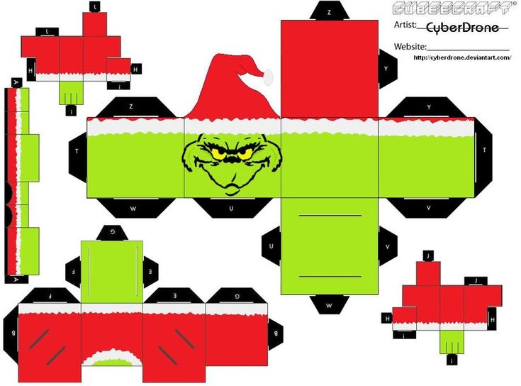 Cubee - The Grinch by CyberDrone.