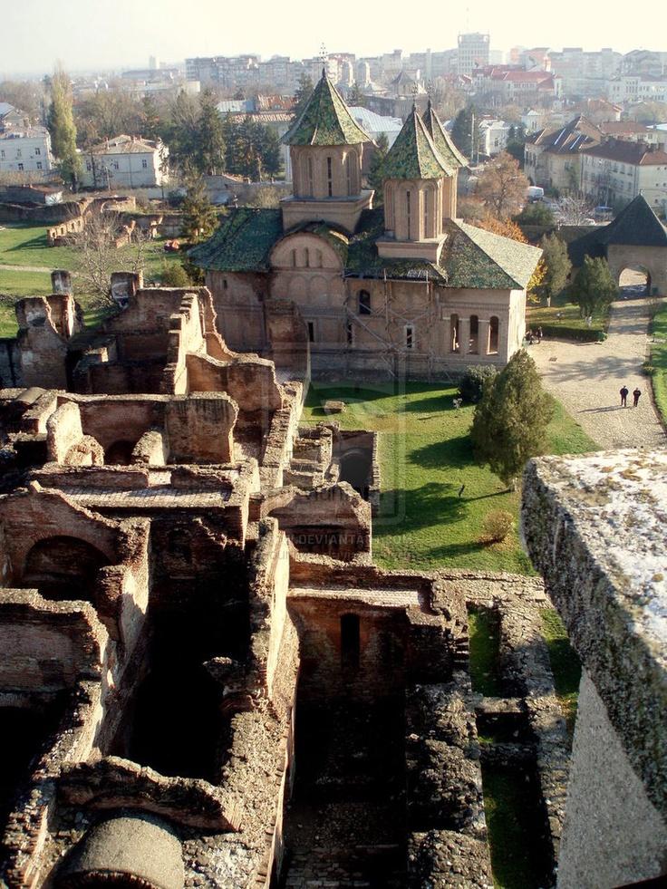 Ruins in Targoviste, Romania
