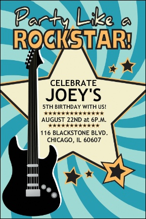 Rock and roll party invitation wording party like a rock star rock and roll party invitation wording party like a rock star rock party pinterest cumple fiesta de msica y guitarra msica stopboris Choice Image