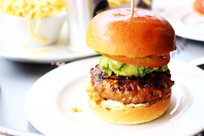 HELLO OCTOBER: The Sunday Post: Burgers & Brighton Sunshine