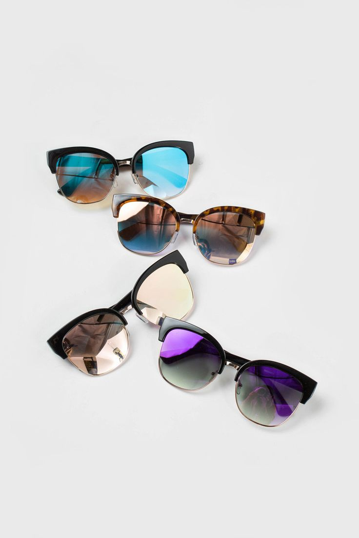 Mirrored sunglasses are in this season and we've found the perfect pair! Coming…