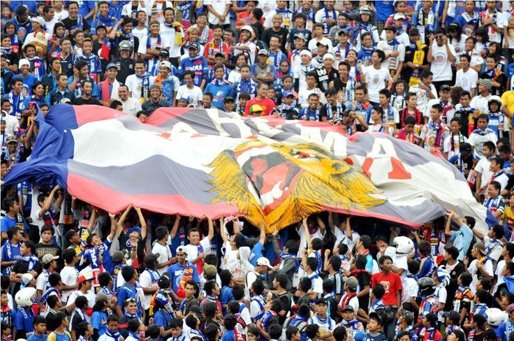 big flag....