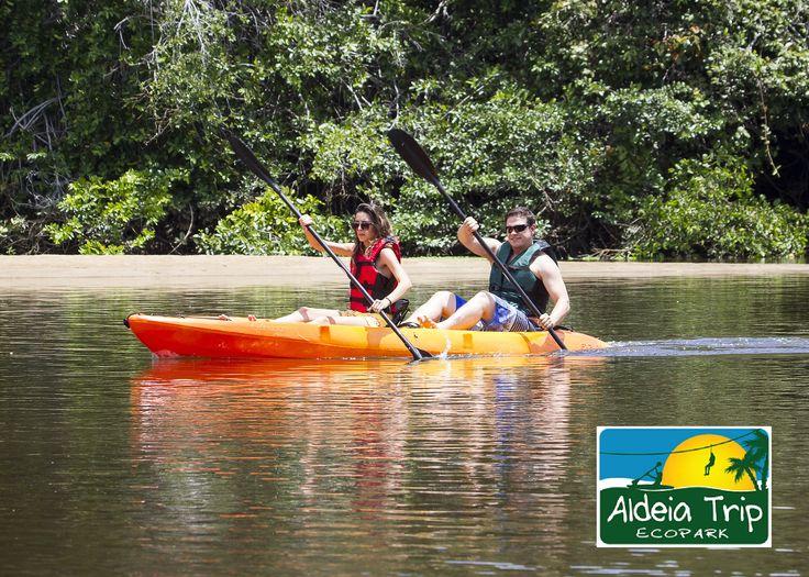 Canoagem no Rio Pojuca - Passeio com a Portomar para reservas: contato@portomar.com.br
