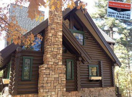 64+ Trendy House Paint Exterior Rustic Log Cabins