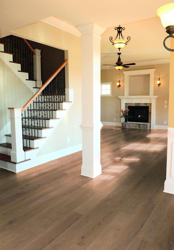 helle diele landhausdiele ambiente eiche geb rstet leicht wei ge lt von hain parkett www. Black Bedroom Furniture Sets. Home Design Ideas