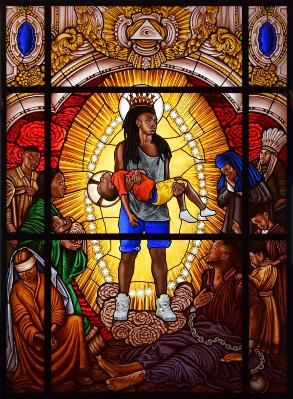 Award winning painter Kehinde Wiley to debut new stained glass exhibition at Le Petit Palais in Paris - AFROPUNK