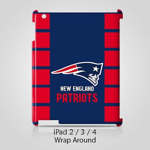 New England Patriots Case for Apple iPad 2 3 4