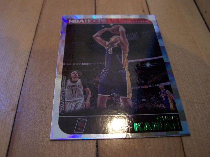 2014-15 Hoops #165 CHRIS KAMAN Green Parallel Card