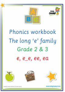 Phonics : Phonics: Long 'e' sound workbook
