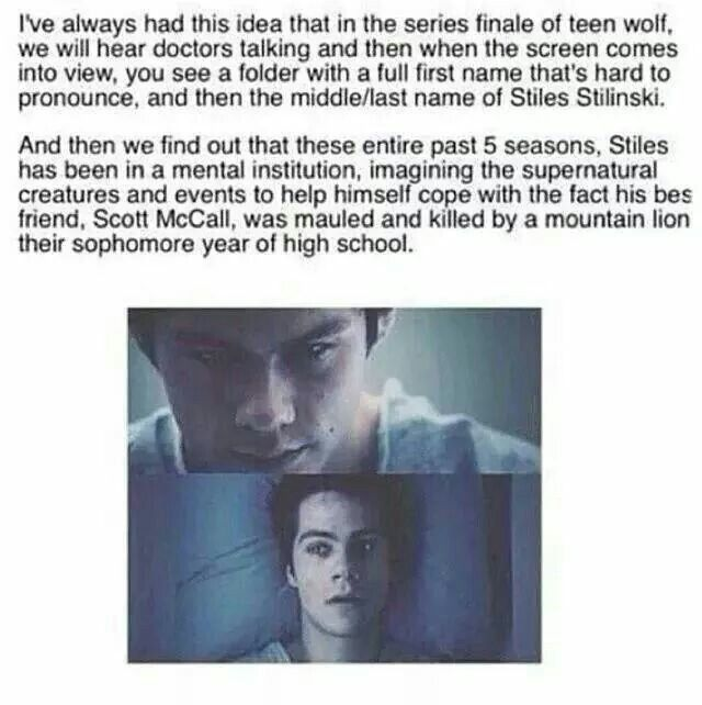 teen wolf quotes void stiles - Google Search omg this is so sad