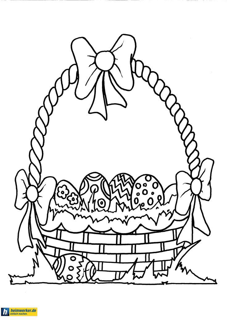 Kostenlose Malvorlagen Ostern