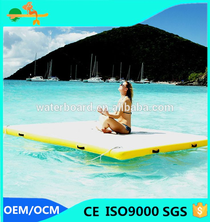 water leisure product mini size inflatable floating mat
