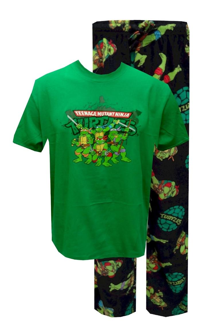 Teenage Mutant Ninja Turtles Pajama Set Who Says Fun