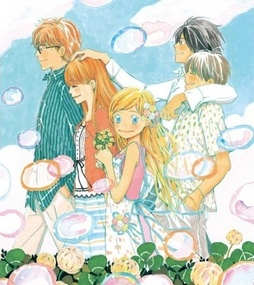 Honey and Clover. One of my favorite manga . Genre : Slice of Life. Well this manga left some bittersweet taste in my mouth and beautiful memory in my mind =). Umino sensei is one of my favorite manga artist too. She always manage to draw the beautiful, deep and calm atmosphere in her drawing.