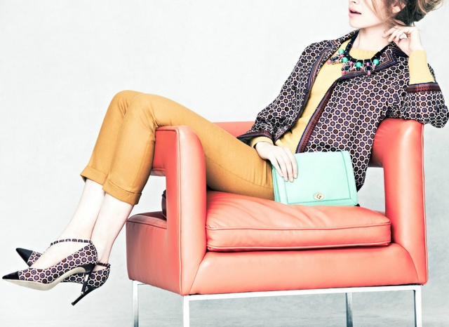 Geometric Prints, Jcrew Collection, Fall Pattern, Coral Chairs, Woman Clothing, Colors Block, J Crew Collection, Awesome Chairs, Style Fashion