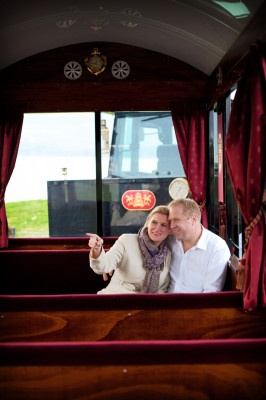 the romance of a tour aboard the Hawke's Bay Express :)