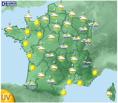 17 best images about fle cartes de france on pinterest map of france fle and photos - Meteo a la carte france 3 ...