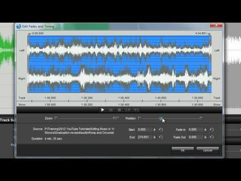 (6) How To Edit Music in Your ProShow Slideshows - YouTube