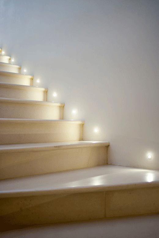 interior step lighting. stair lights more interior step lighting