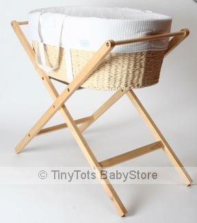 Mosses Basket and Stand Available in store .imagehttp://www.tinytotsbabystore.com.au/