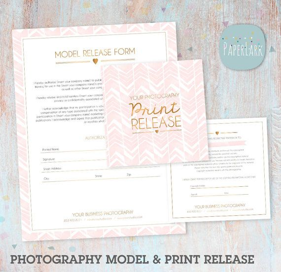 Photography Print Release and Model Release   Photoshop