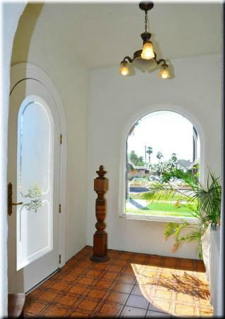 Spanish Style Home Entry