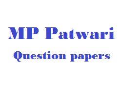 MP Patwari Previous Year Question paper