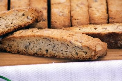 Double Almond Biscotti.  The best Biscotti you will ever make!