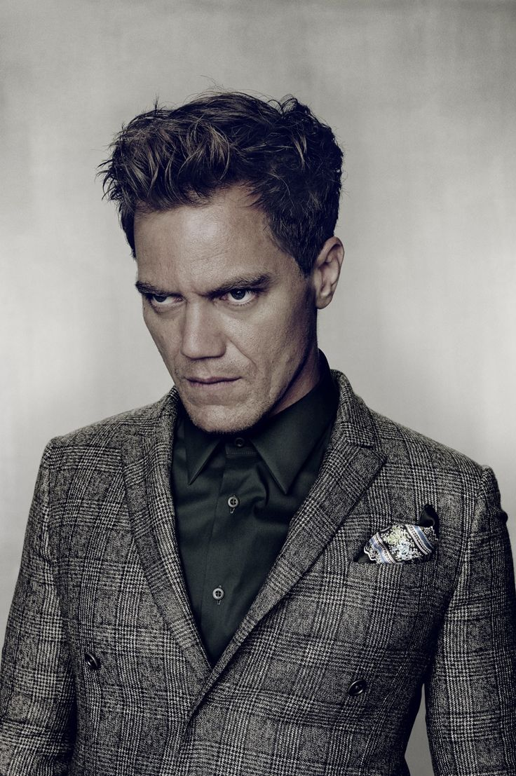Nadav Kander photographs actor Michael Shannon for Port magazine's first word-free cover