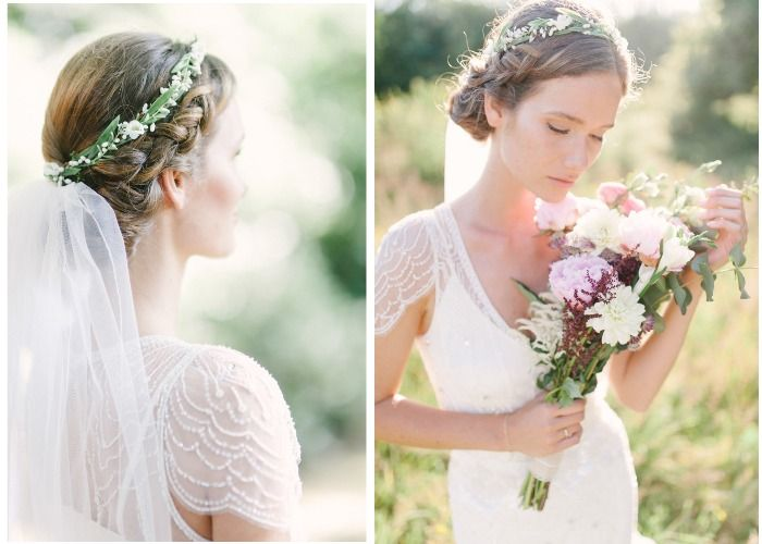 15 Wedding Hairstyles For Long Hair That Steal The Show: Best 25+ Veil Hair Ideas On Pinterest