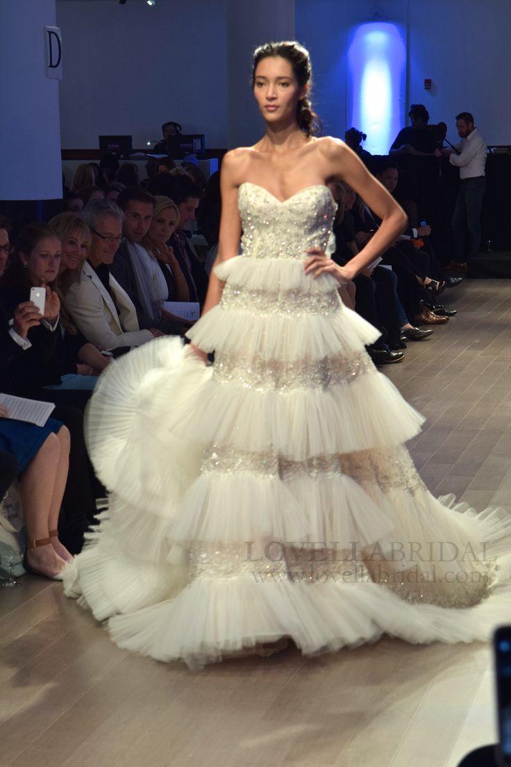 41 best Lazaro images on Pinterest | Wedding frocks, Bridal gowns ...