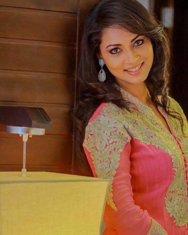 Actress Pooja Umashankar 2016 Latest Cute  Hot Gallery - Gethu Cinema