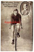 2 Scan * um 1910 AK Torpedo Fritz Schallwig Berlin Frankfurt Weil Radsport Velo Fahrrad Radfahrer | For sale on Delcampe