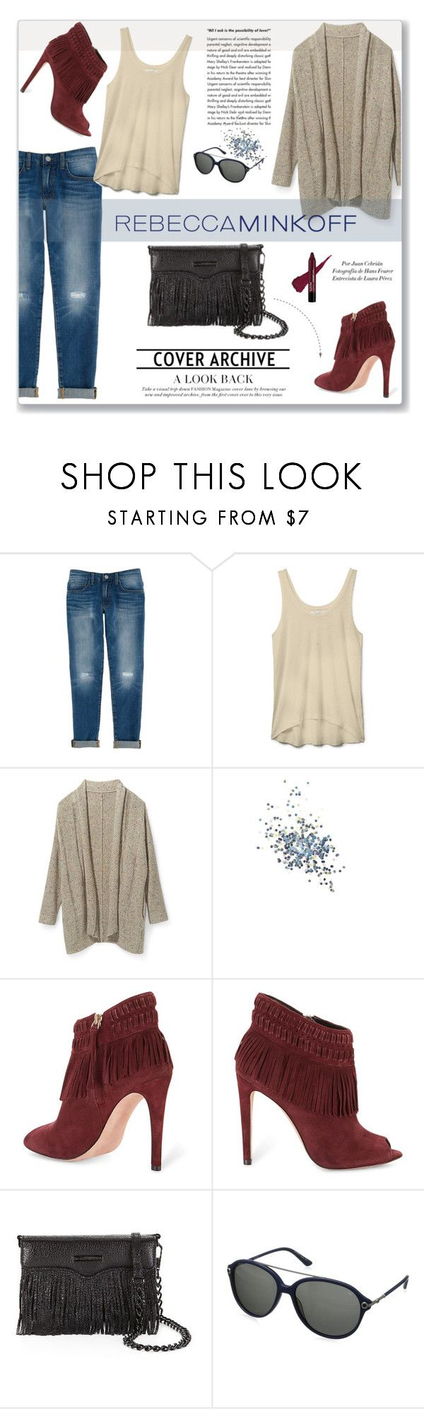 """Rebecca Minkoff's Spring 2016 Collection"" by vidrica ❤ liked on Polyvore featuring Rebecca Minkoff, Topshop, KAROLINA, women's clothing, women, female, woman, misses, juniors and rebeccaminkoff"