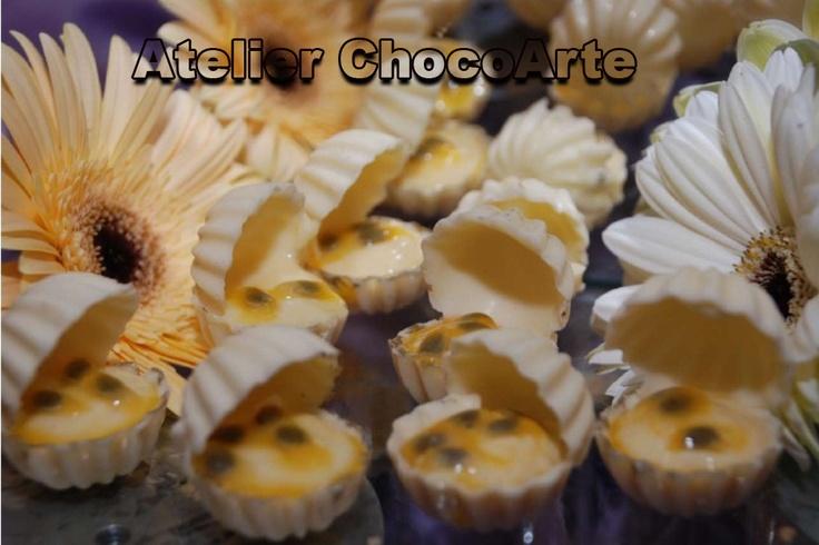Conchinha de maracujá - Atelier ChocoArte: Doces Finos