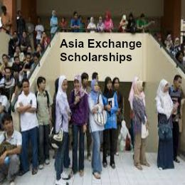 Asia Exchange Scholarships for Study Abroad Programs, and applications are submitted till April 30th, 2015. Applications are invited for Asia E. Scholarships for for pursuing study abroad program in one of Asian partner universities for one semester. - See more at: http://www.scholarshipsbar.com/asia-exchange-scholarships.html#sthash.R7oq8QUH.dpuf