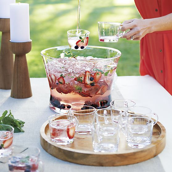 10-Piece Punch Party Set   Crate and Barrel