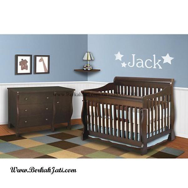 Jual Set Kamar Bayi Box Bayi baby Tafel merupakan Produk Mebel Kamar Set Bayi dengan desain Minimalis dengan bahan Kayu Jati Solid untuk kenyamanan Bayi