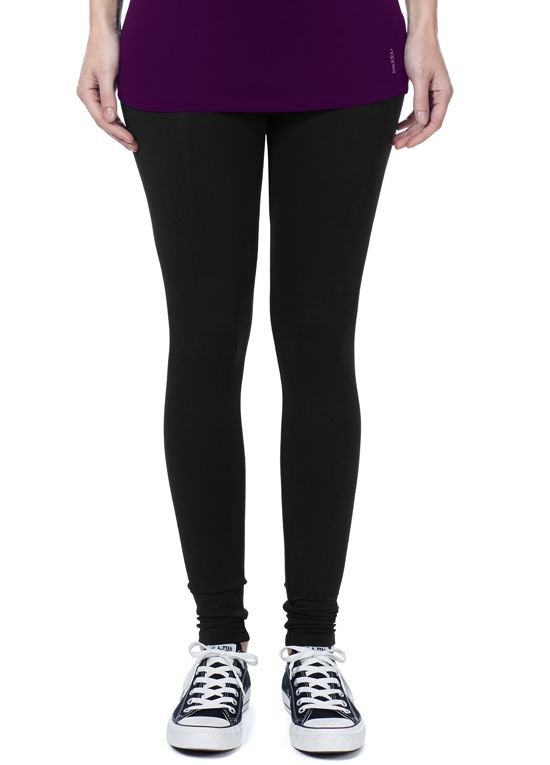 Queen Bee Lely Over Belly Maternity Leggings in Black by Noppies