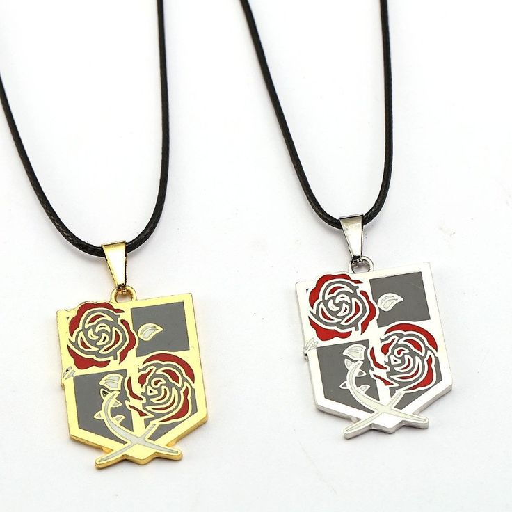 ATTACK ON TITAN Garrison Emblem Pendant Necklace //Price: $9.95 & FREE Shipping //     #picacollection #shopping #anime #videogames #cinema #fashion