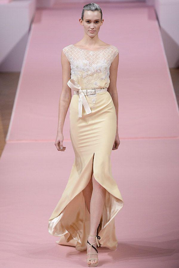 Haute Couture Kleid mit Gürtel von Alexis Mabille - Jolie.de