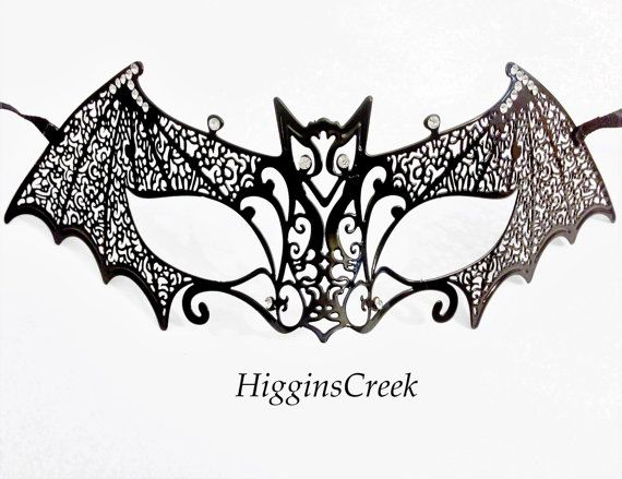 Hey, I found this really awesome Etsy listing at https://www.etsy.com/listing/207743050/bat-animal-mask-for-halloween-metal-bat